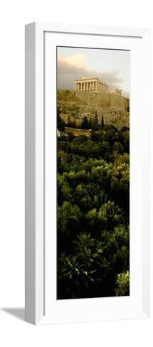Acropolis of Athens at Dusk, Athens, Greece--Framed Art Print