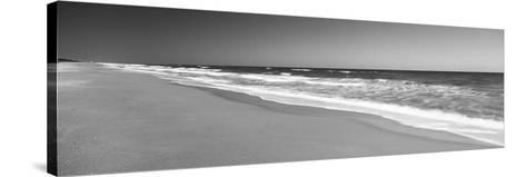 Route A1A, Atlantic Ocean, Flagler Beach, Florida, USA--Stretched Canvas Print