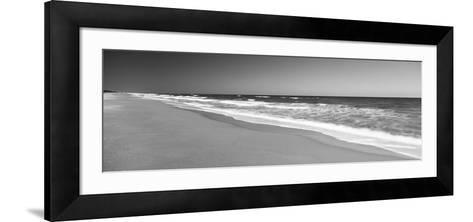 Route A1A, Atlantic Ocean, Flagler Beach, Florida, USA--Framed Art Print