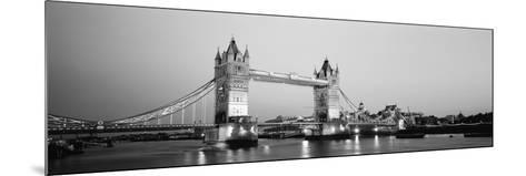 Tower Bridge London England--Mounted Photographic Print
