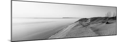 Sand Dunes at the Lakeside, Sleeping Bear Dunes National Lakeshore, Lake Michigan, Michigan, USA--Mounted Photographic Print