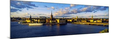 City at the Waterfront, Gamla Stan, Stockholm, Sweden--Mounted Photographic Print