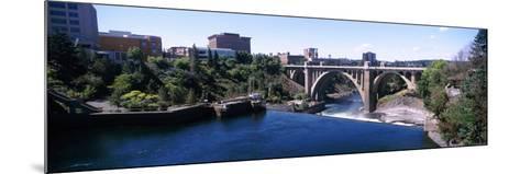 Monroe Street Bridge across Spokane River, Spokane, Washington State, USA--Mounted Photographic Print