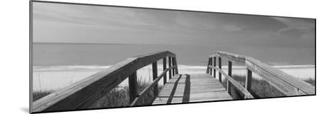 Boardwalk on the Beach, Gasparilla Island, Florida, USA--Mounted Photographic Print