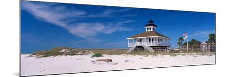 Lighthouse on the Beach, Port Boca Grande Lighthouse, Gasparilla Island State Park--Mounted Photographic Print