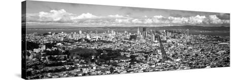Cityscape Viewed from the Twin Peaks, San Francisco, California, USA--Stretched Canvas Print