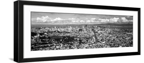 Cityscape Viewed from the Twin Peaks, San Francisco, California, USA--Framed Art Print