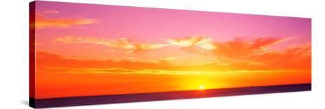 Sunset Perth Australia--Stretched Canvas Print