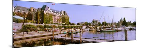 Buildings at the Waterfront, Empress Hotel, Inner Harbor, Victoria, Vancouver Island--Mounted Photographic Print