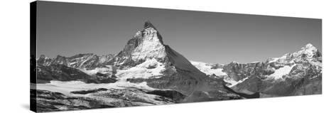 Matterhorn Switzerland--Stretched Canvas Print