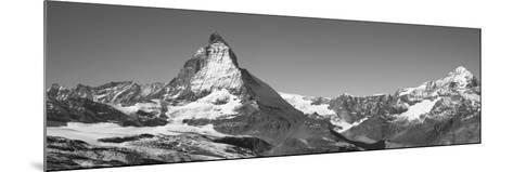 Matterhorn Switzerland--Mounted Photographic Print