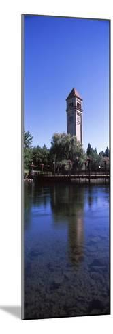 Clock Tower at Riverfront Park, Spokane, Washington State, USA--Mounted Photographic Print