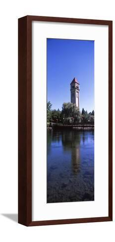 Clock Tower at Riverfront Park, Spokane, Washington State, USA--Framed Art Print