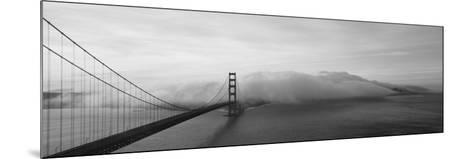 Golden Gate Bridge and Fog San Francisco Ca--Mounted Photographic Print