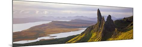 Old Man of Storr Mountains, Isle of Skye, Inner Hebrides, Highland Region, Scotland--Mounted Photographic Print