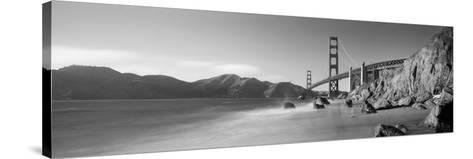 Bridge across a Sea, Golden Gate Bridge, San Francisco, California, USA--Stretched Canvas Print