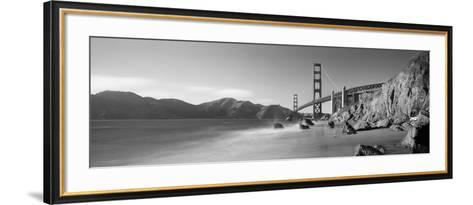 Bridge across a Sea, Golden Gate Bridge, San Francisco, California, USA--Framed Art Print