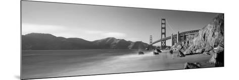 Bridge across a Sea, Golden Gate Bridge, San Francisco, California, USA--Mounted Photographic Print