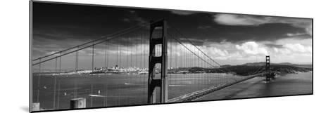 Bridge over a River, Golden Gate Bridge, San Francisco, California, USA--Mounted Photographic Print