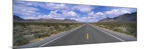 Road Passing Through a Desert, Death Valley, California, USA--Mounted Photographic Print