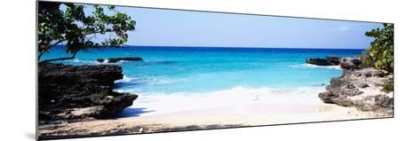 Rock Formations on the Beach, Smith's Cove Beach, Smith's Cove, Georgetown, Grand Cayman--Mounted Photographic Print