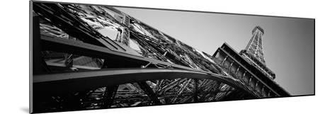 Low Angle View of Las Vegas Replica Eiffel Tower, Paris Las Vegas, Las Vegas, Nevada, USA--Mounted Photographic Print