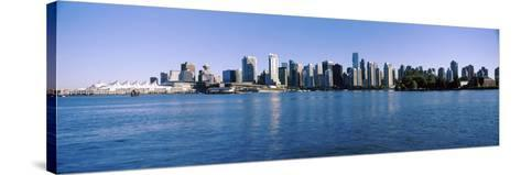 City Skyline, Vancouver, British Columbia, Canada 2013--Stretched Canvas Print