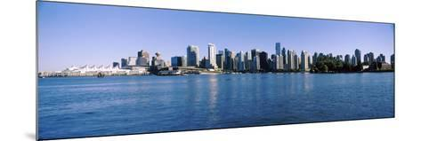 City Skyline, Vancouver, British Columbia, Canada 2013--Mounted Photographic Print
