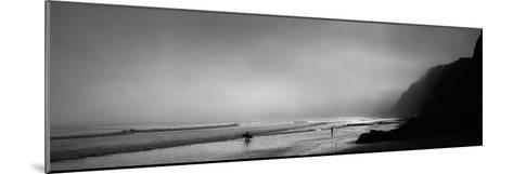 Surfers on the Beach, Point Reyes National Seashore, Marin County, California, USA--Mounted Photographic Print