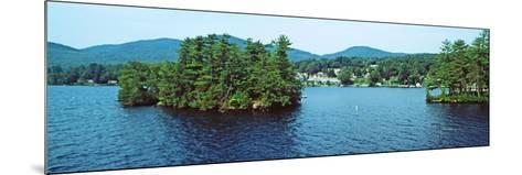 View from the Minne Ha Ha Steamboat, Lake George, New York State, USA--Mounted Photographic Print