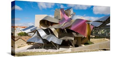 Hotel Marques De Riscal, Elciego, La Rioja, Spain--Stretched Canvas Print