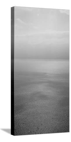 Reflection of Clouds on Water, Lake Geneva, Switzerland--Stretched Canvas Print