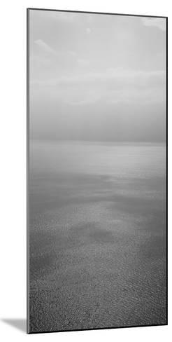 Reflection of Clouds on Water, Lake Geneva, Switzerland--Mounted Photographic Print