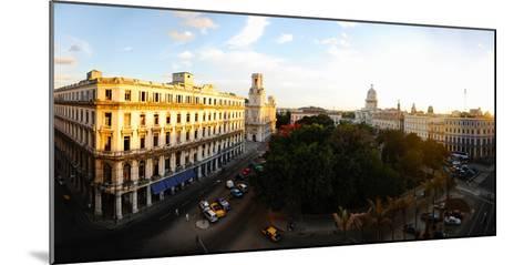 Buildings in a City, Parque Central, Old Havana, Havana, Cuba--Mounted Photographic Print