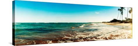 Surf on the Beach, Morro De Sao Paulo, Tinhare, Cairu, Bahia, Brazil--Stretched Canvas Print