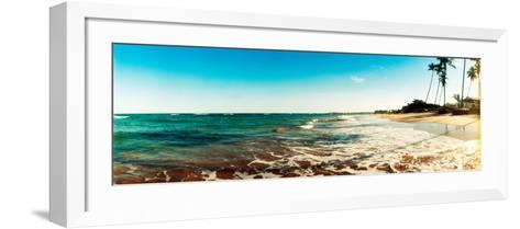 Surf on the Beach, Morro De Sao Paulo, Tinhare, Cairu, Bahia, Brazil--Framed Art Print