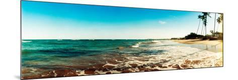 Surf on the Beach, Morro De Sao Paulo, Tinhare, Cairu, Bahia, Brazil--Mounted Photographic Print