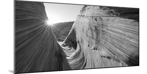 Sandstone Rock Formations, the Wave, Coyote Buttes, Utah, USA--Mounted Photographic Print