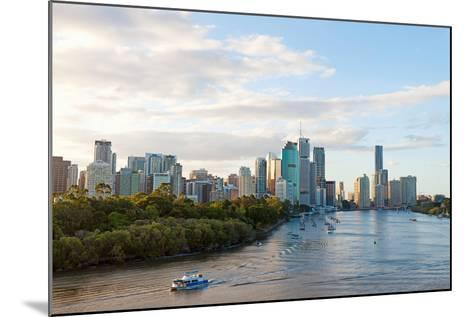 Buildings at the Waterfront, Brisbane, Queensland, Australia--Mounted Photographic Print