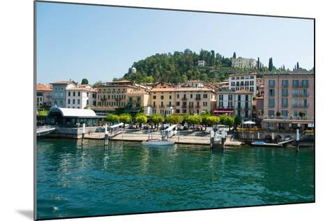 Buildings in a Town at the Waterfront, Bellagio, Lake Como, Lombardy, Italy--Mounted Photographic Print