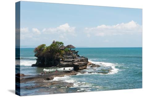 Sea Temple, Tanah Lot Temple, Tanah Lot, Bali, Indonesia--Stretched Canvas Print