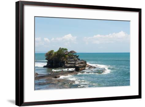 Sea Temple, Tanah Lot Temple, Tanah Lot, Bali, Indonesia--Framed Art Print