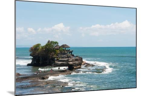 Sea Temple, Tanah Lot Temple, Tanah Lot, Bali, Indonesia--Mounted Photographic Print
