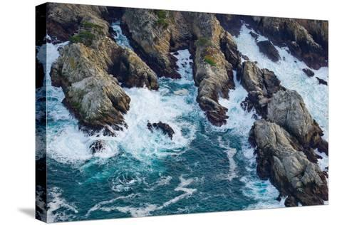 Aerial View of a Coast, Point Lobos State Reserve, Monterey County, California, USA--Stretched Canvas Print