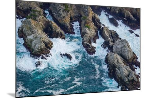 Aerial View of a Coast, Point Lobos State Reserve, Monterey County, California, USA--Mounted Photographic Print