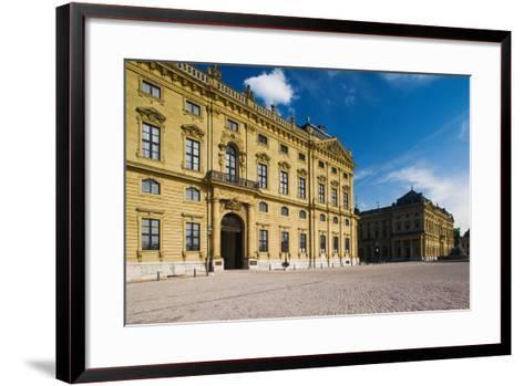 Facade of a Palace, Wurzburg Residence, Wurzburg, Lower Franconia, Bavaria, Germany--Framed Art Print