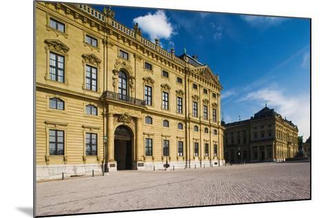 Facade of a Palace, Wurzburg Residence, Wurzburg, Lower Franconia, Bavaria, Germany--Mounted Photographic Print