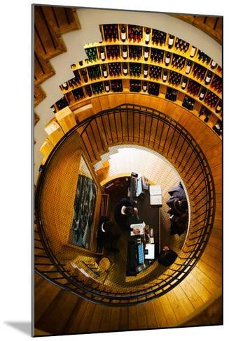 Overview of the L'Intendant Wine Shop Staircase, Bordeaux, Gironde, Aquitaine, France--Mounted Photographic Print