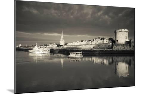 Tour De La Lanterne and Tour De La Chaine Towers, La Rochelle, Charente-Maritime--Mounted Photographic Print