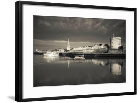 Tour De La Lanterne and Tour De La Chaine Towers, La Rochelle, Charente-Maritime--Framed Art Print
